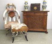 1.26 Horn chair