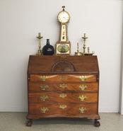 American Mahogany Desk